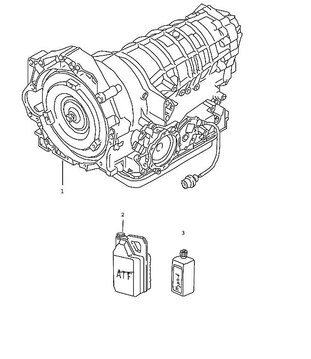 Porsche Boxster (986) Tiptronic transmission 1997-04