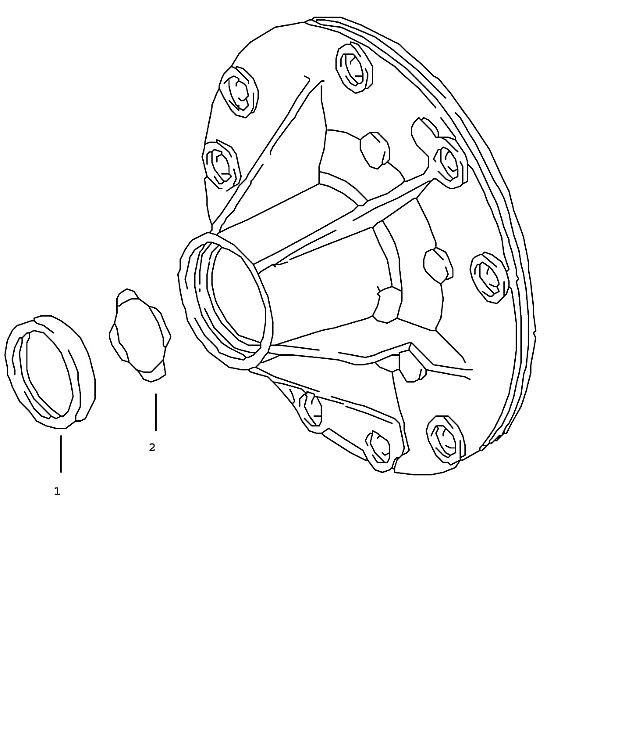 Porsche Boxster (986) Tiptronic Oil pump 1997-04